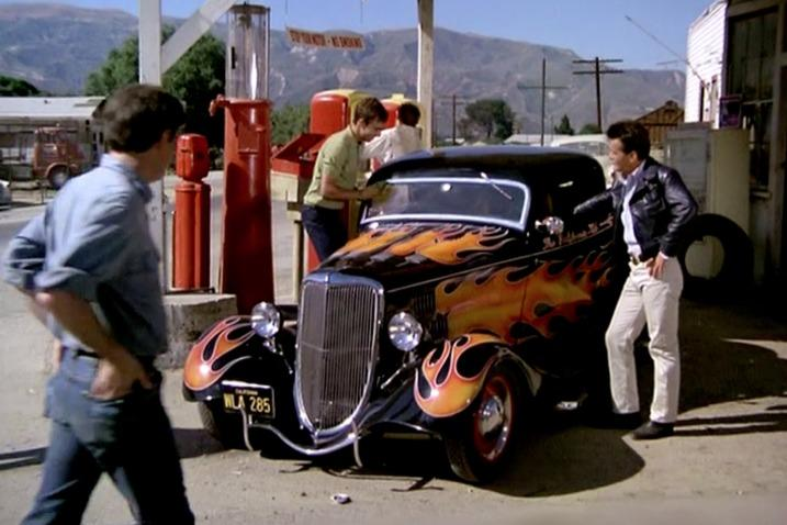 The California Kid movie, The California Kid car, 1934 Ford Coupe, Ford