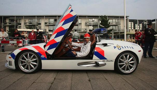 Spyker C8 Spyder, Spyker car, Spyker C8 Spyder police