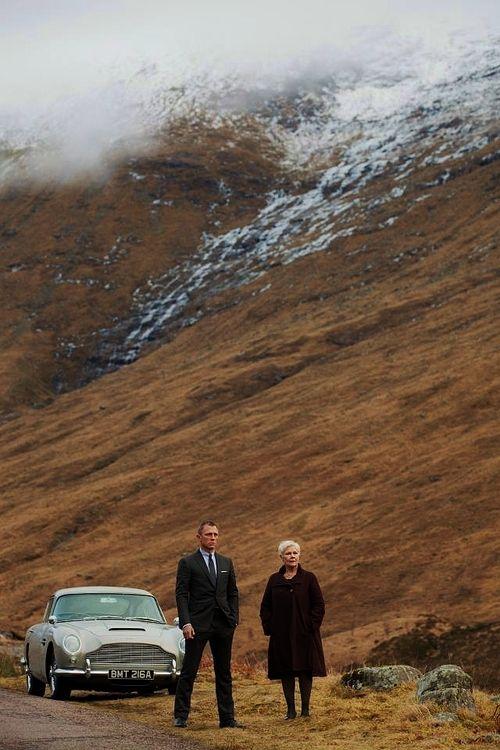 Skyfall movie, Skyfall car, Aston Martin DB5, Aston Martin