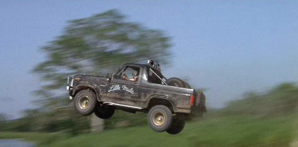 Romancing the Stone movie, Romancing the Stone car, 1982 Ford Bronco XLT, Ford