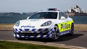 Porsche Panamera , Porsche Panamera  police
