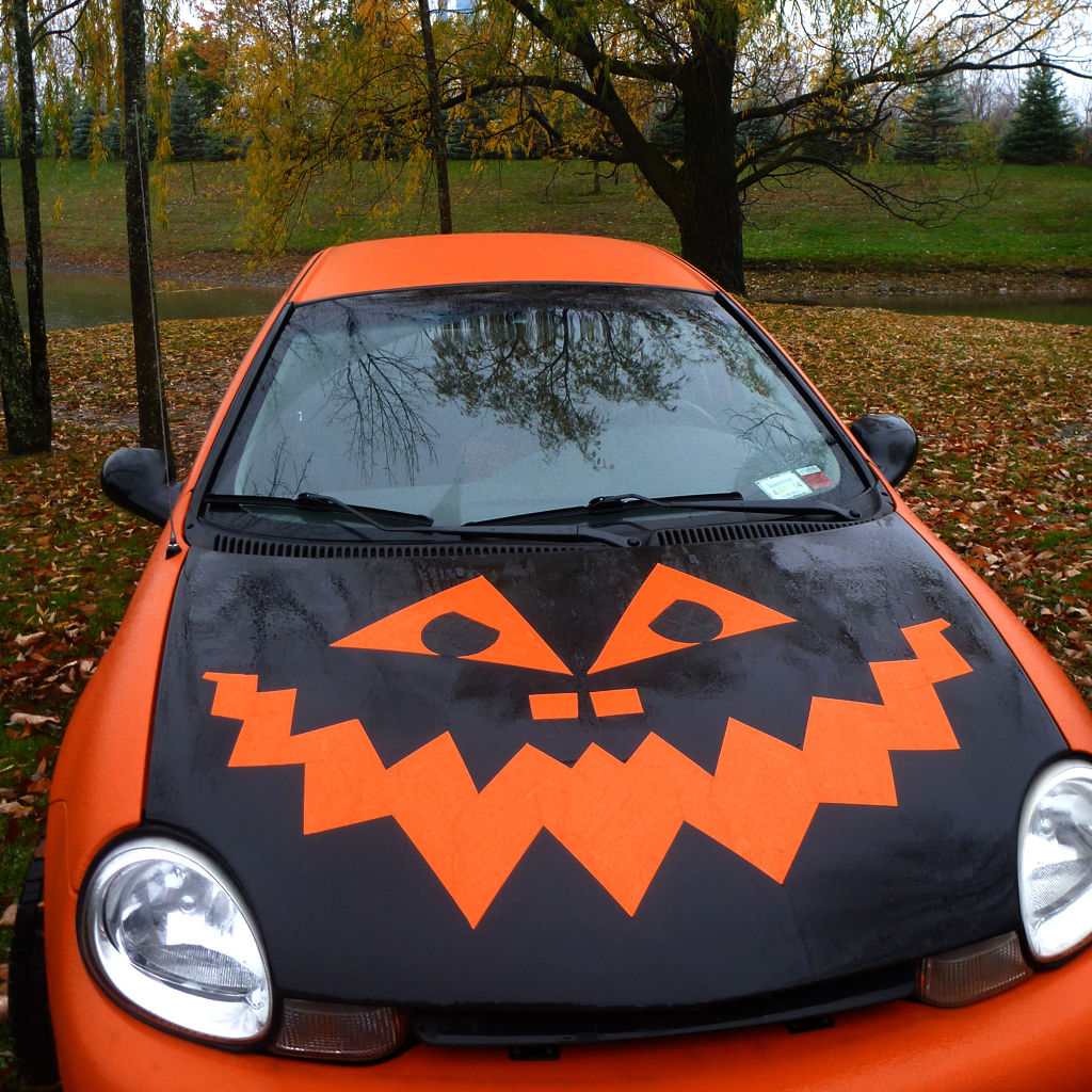share your fancies of halloween car decorations in comments to this article