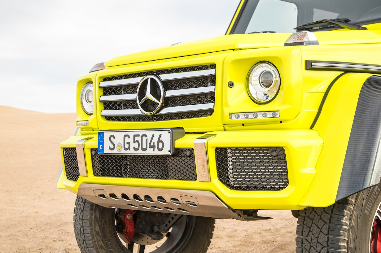 Mercedes benz g500 4x4 squared discontinues production for Mercedes benz 4x4 squared