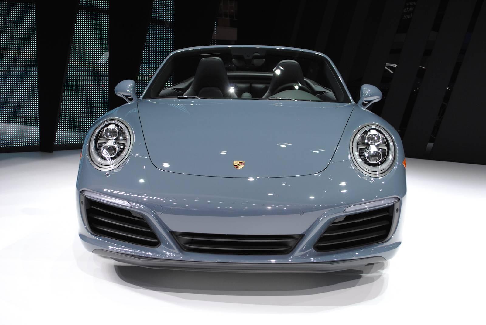 New Porsche Cabriolet