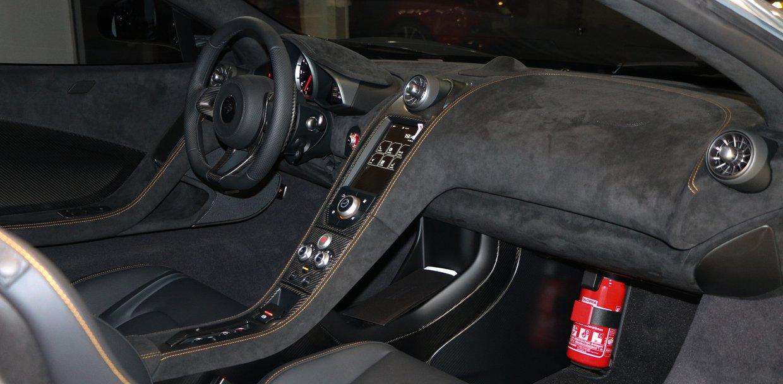 McLaren cabin