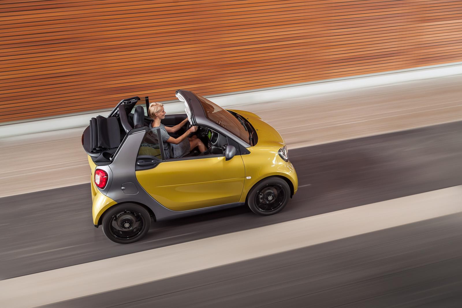 new Smart Cabrio