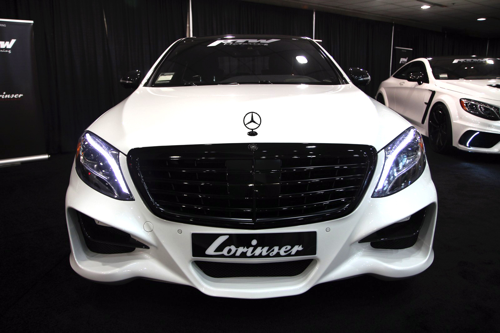 tuned Mercedes