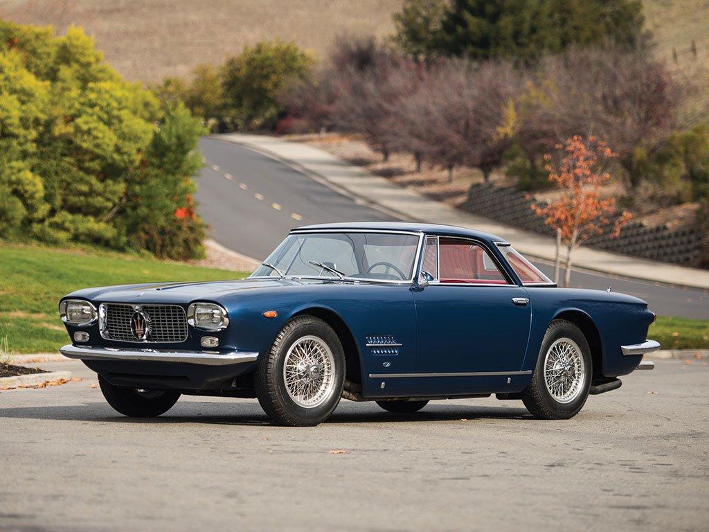 Maserati on auction