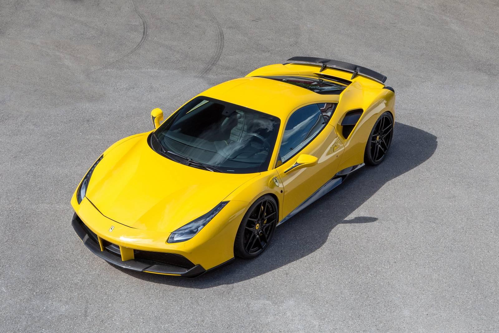 tuned Ferrari 488