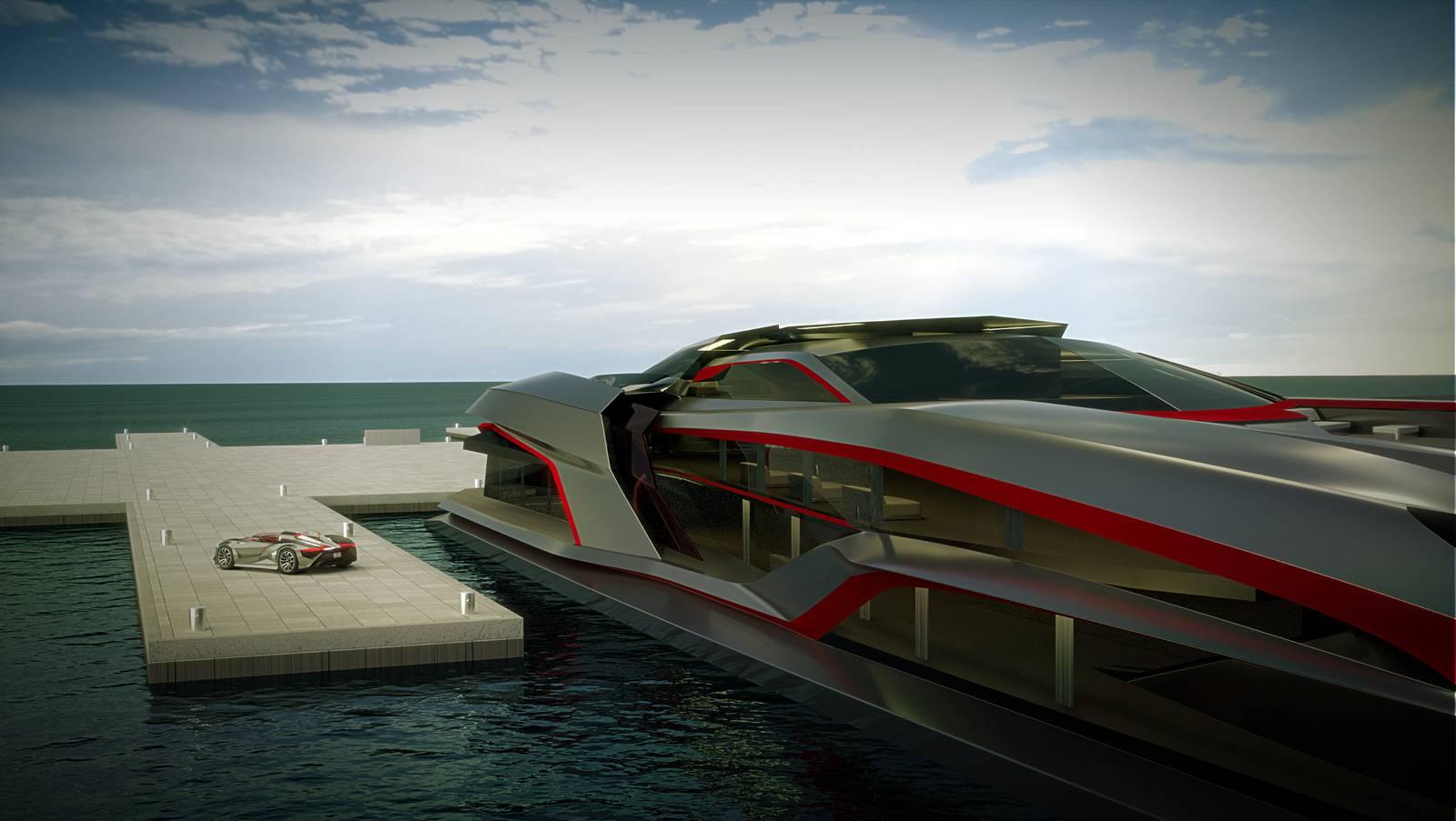 Kraken yacht
