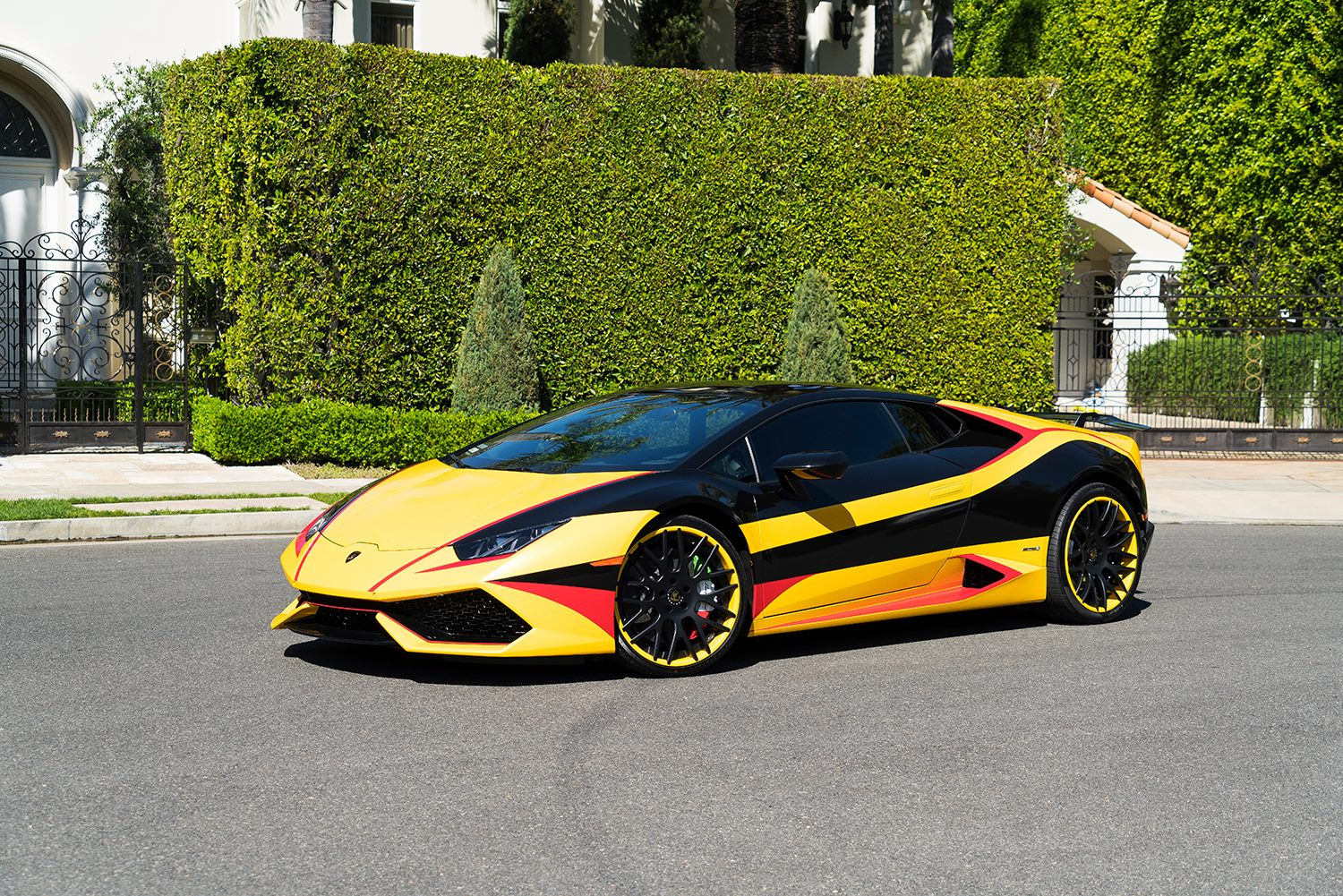 wrapped lamborghini