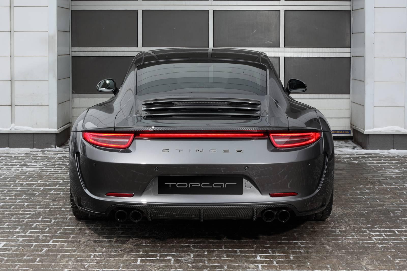 tuned Porsche Carrera