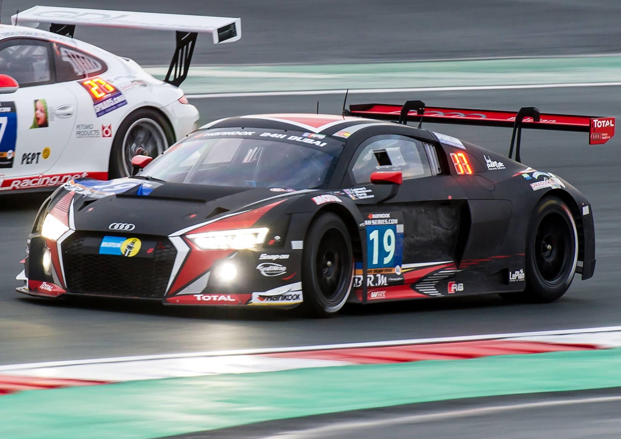 Audi racing car