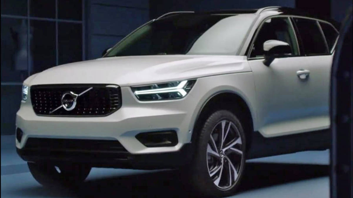 2018 volvo xc40 revealed a week ahead of the official unveiling. Black Bedroom Furniture Sets. Home Design Ideas