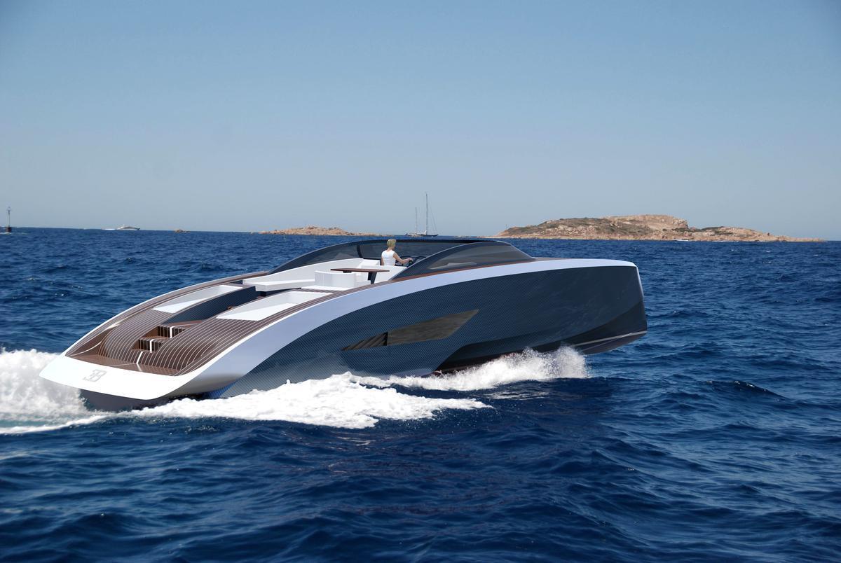 Bugatti new yacht