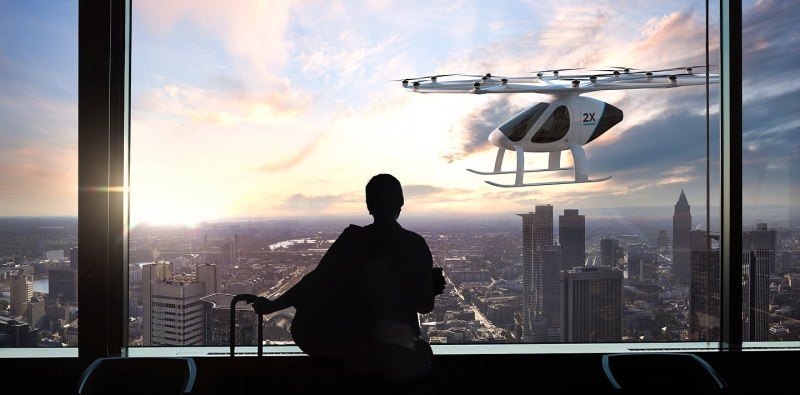 Daimler will invest in flying taxi firm Volocopter
