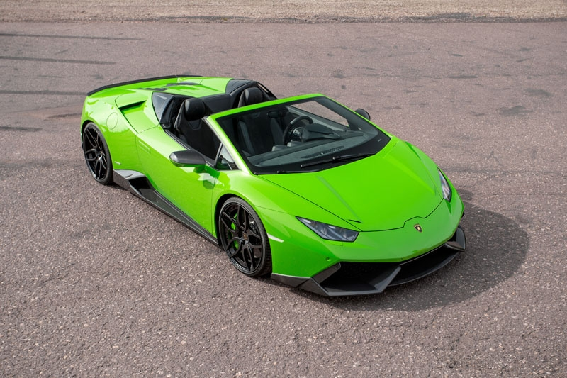 The fancy-looking updated Lamborghini Huracan Spyder!