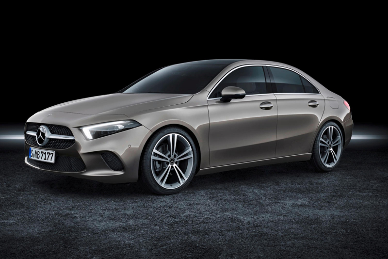 Meet The New Mercedes-Benz A-Class Sedan For America
