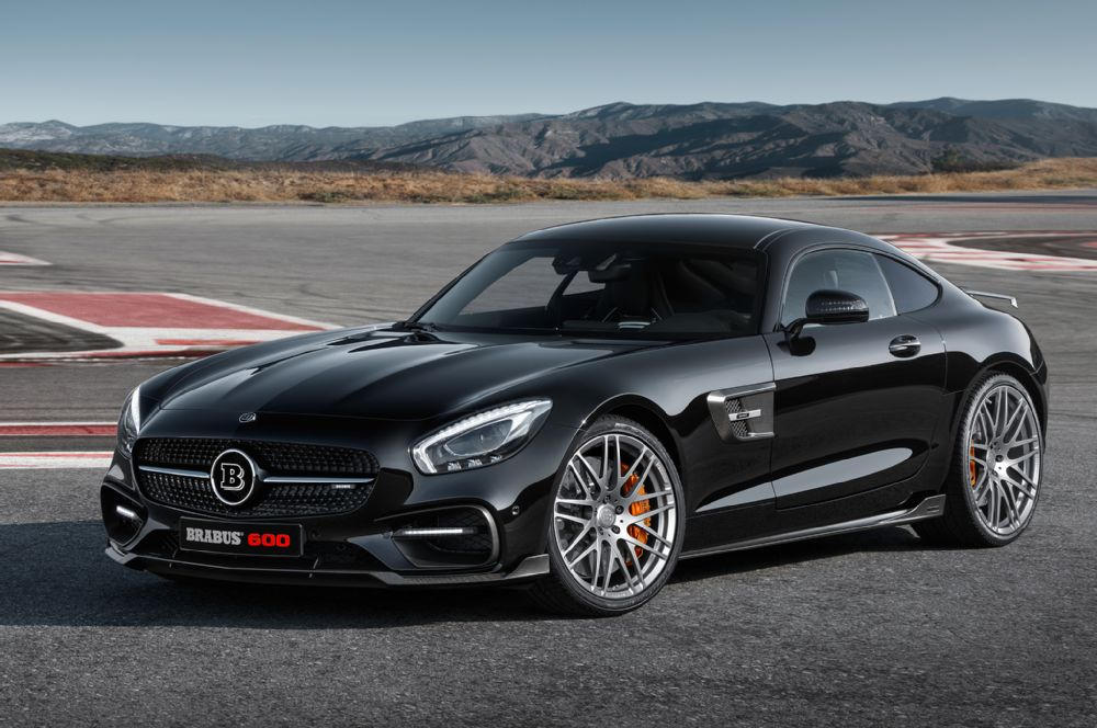 2016 Mercedes-Benz AMG GT tuned by Brabus