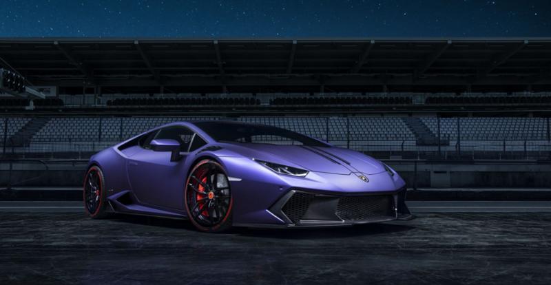 What about a purple Vorsteiner Lamborghini Huracan?!