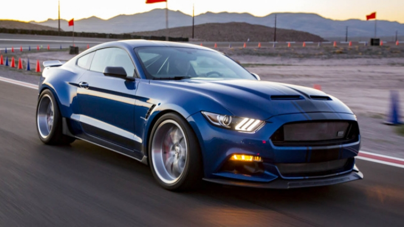 Shelby unveils new Super Snake Mustang Concept and F-150