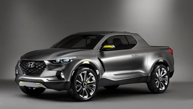 Hyundai Santa Cruz Pickup Truck is Due Around 2020
