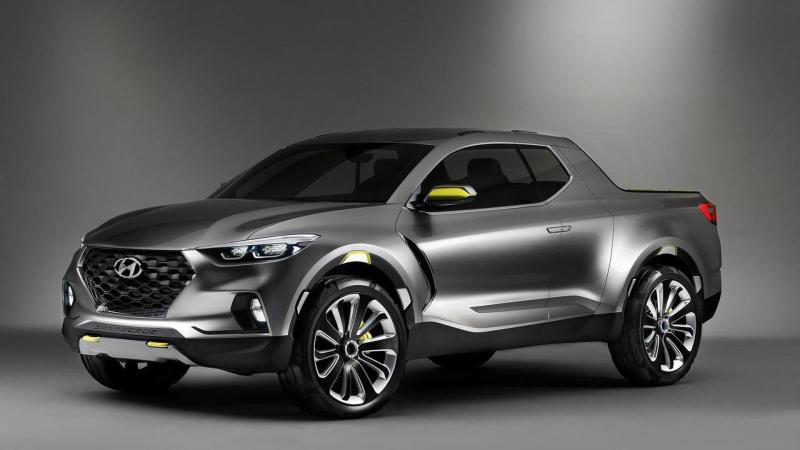 Hyundai Santa Cruz Pickup Truck is Due Around 2020