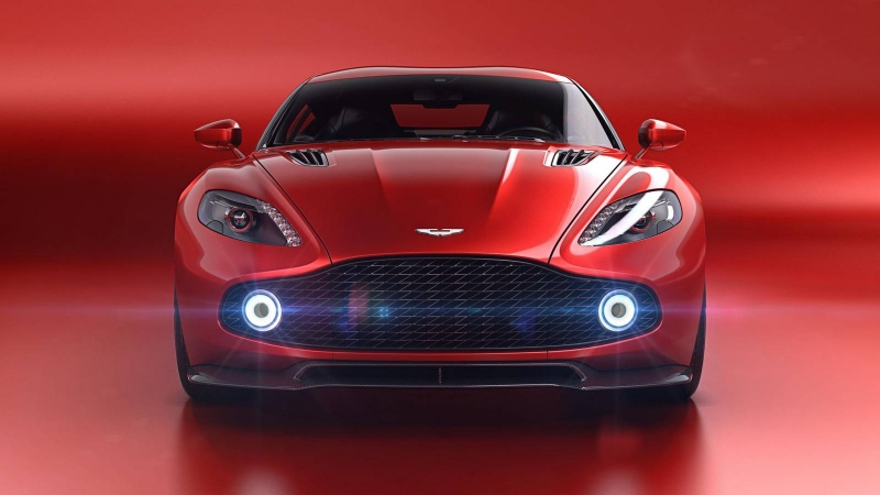 The debut of the stunning Aston Martin Vanquish Zagato Concept