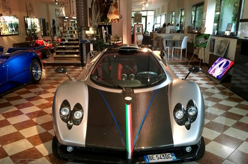 The unique Pagani Zonda prototype