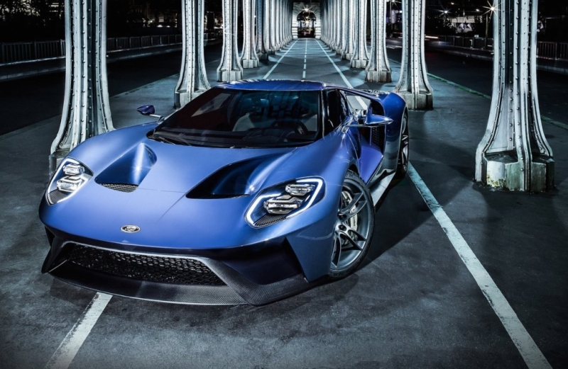 2017 Ford GT supercar will be fitted with Corning Gorilla Glass windshield