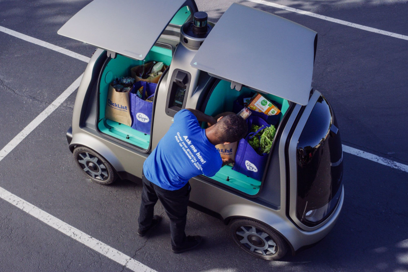 This Autonomous Car Will Bring Groceries Right To Your Doorstep