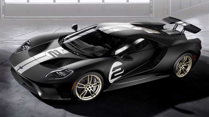 The historical Ford GT '66 Heritage Edition, gets updated!