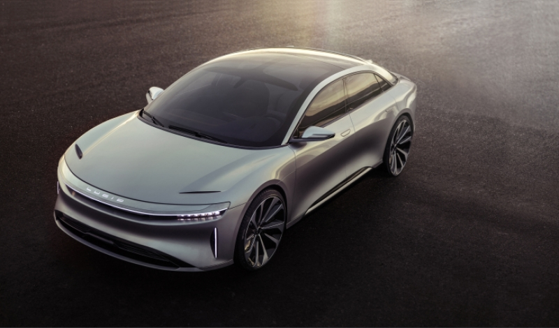 Lucid Motors finally unveils its luxury electric car