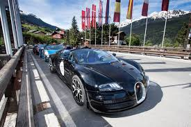 2015 Bugatti Grand Tour will pass through Croatia and Montenegro