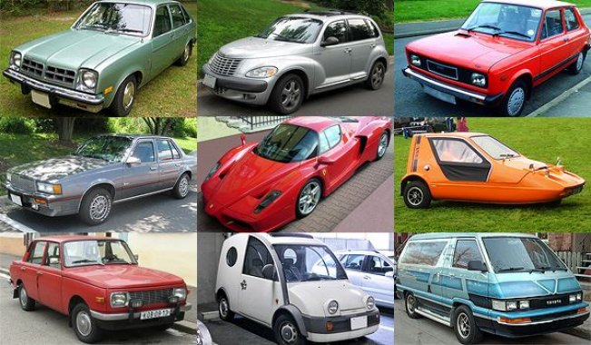 Ugliest cars of the mankind