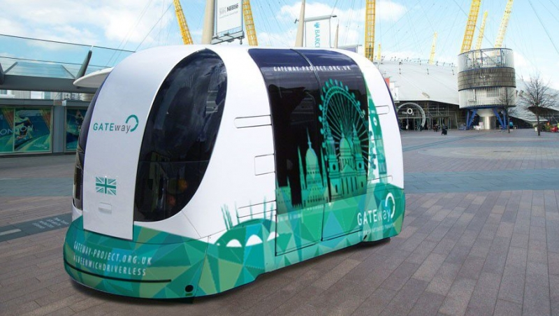 The first public autonomous cars in London this summer