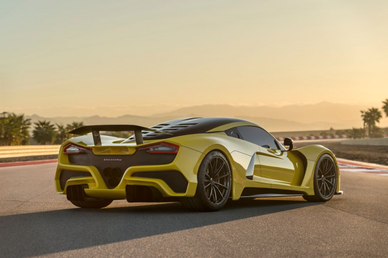 The astonishing Hennessey Venom F5 will do 300mph