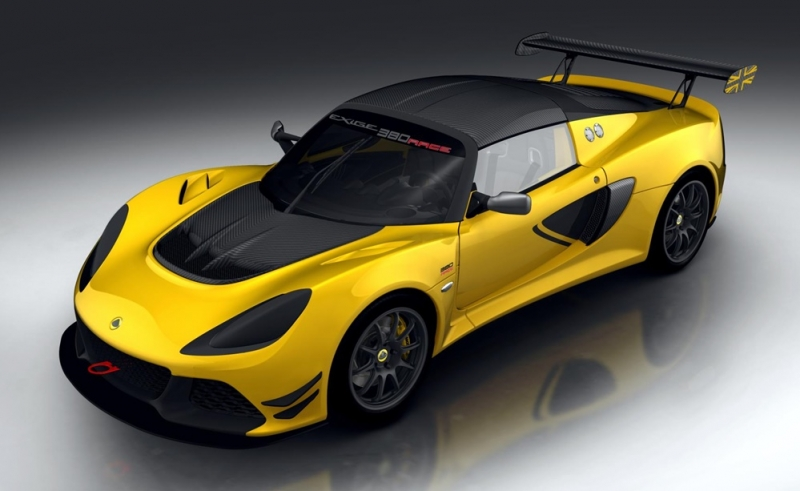 Lotus Exige Race 380 track-only version is yet to be revealed