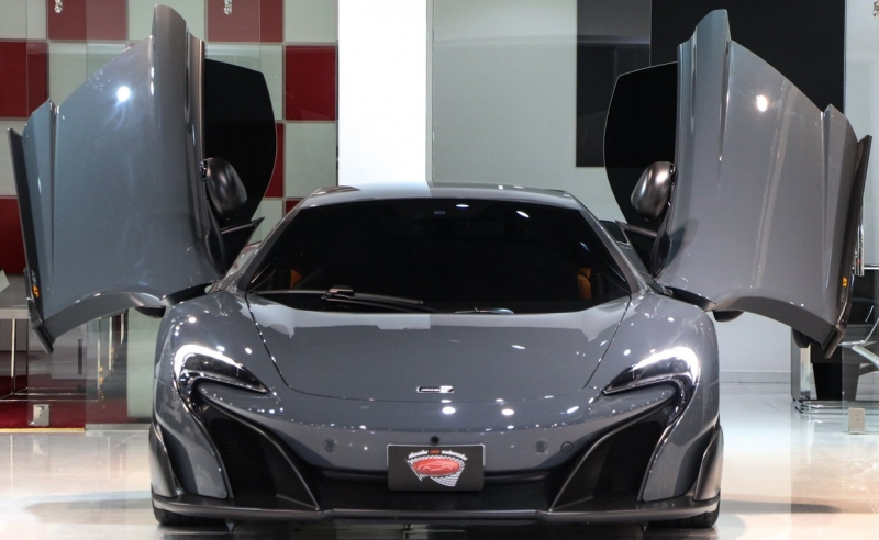 The first 2016 McLaren 675LT is listed for sale online