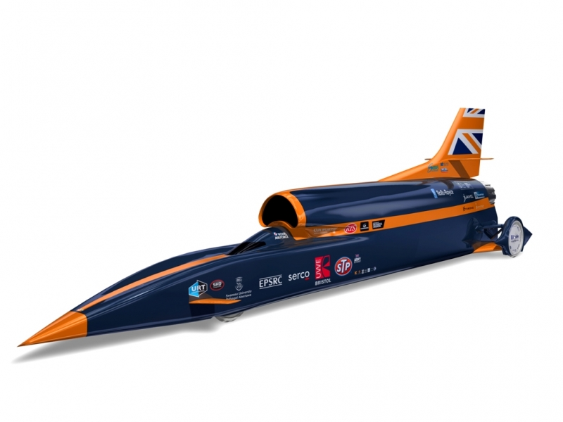 Bloodhound SSC concept was the most impressive car at the Auto Zurich carshow