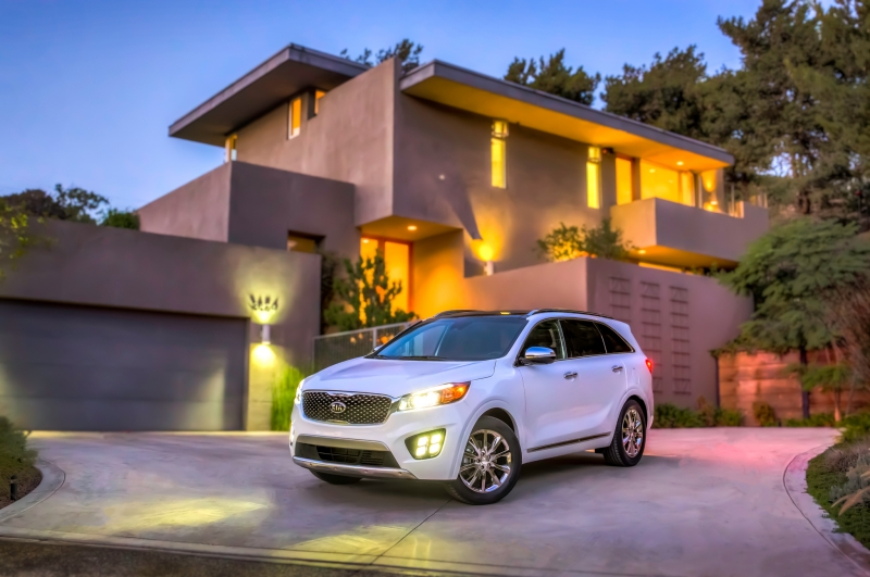 The 2017 truck-based Kia Sorento!