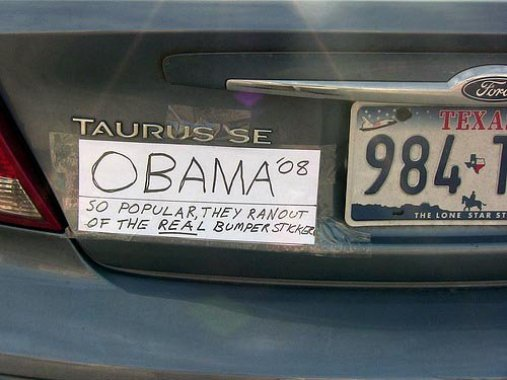 Funniest Bumper Stickers