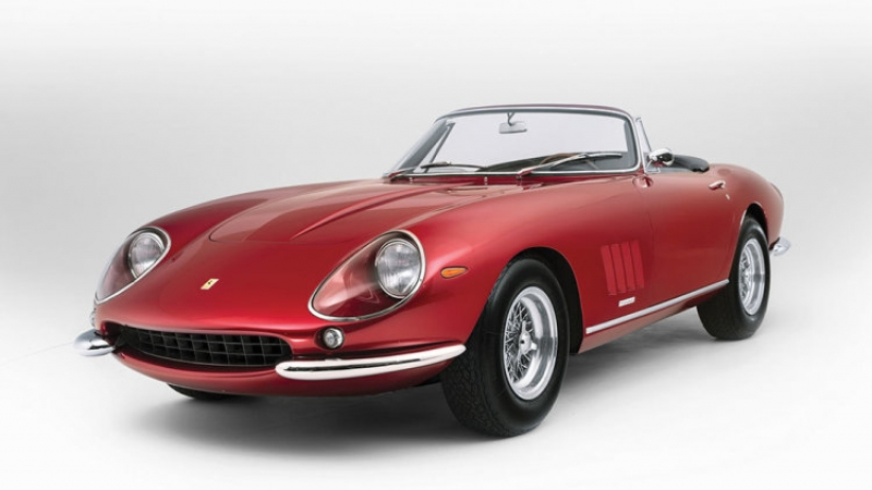 Last Ferrari 275 at auction this May!
