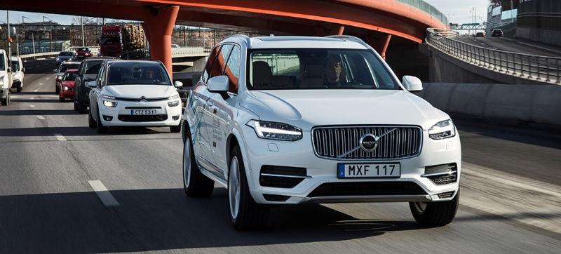 Volvo's 100 self-driving cars sent to China for testing on public roads