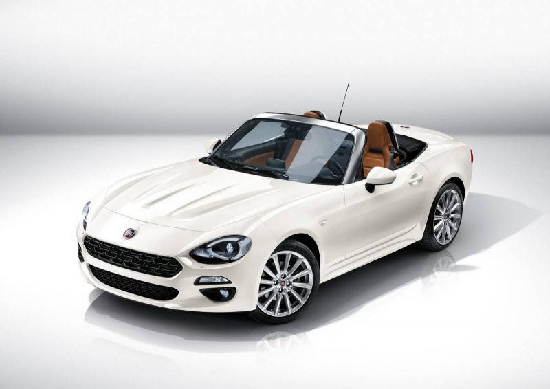The 2016 Fiat 124 Spider - a