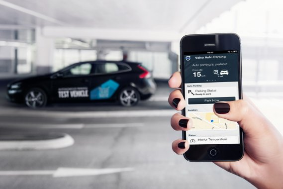 Almost without hands. Test—drive the autopilot Volvo