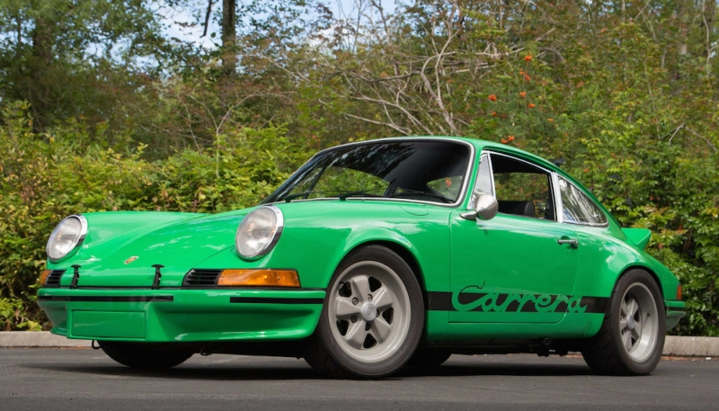 Fake or not,  this Porsche Carrera RS Replica is up for auction!