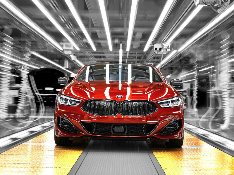 2019 BMW 8 Series Has Officially Started Production