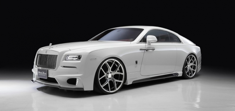 Rolls-Royce Wraith Black Bison Edition - one of the world's most exclusive and luxurious cars