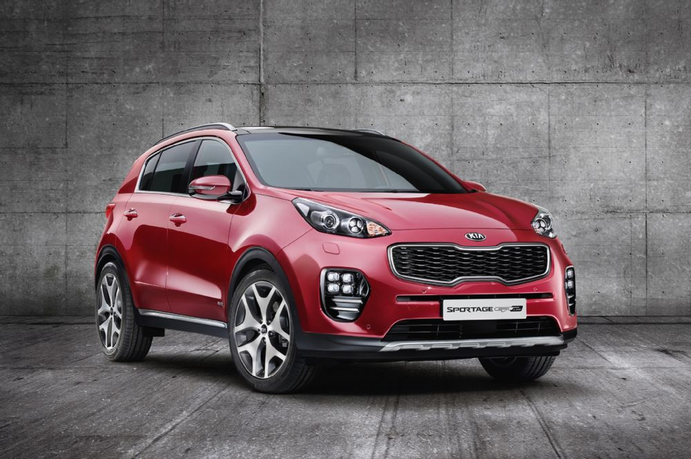 2017 Kia Sportage has made its debut at the Frankfurt Motor Show